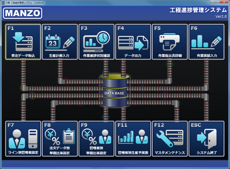 【工程進捗管理システム】