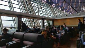 上海浦东 国際空港 第1ターミナルのラウンジ