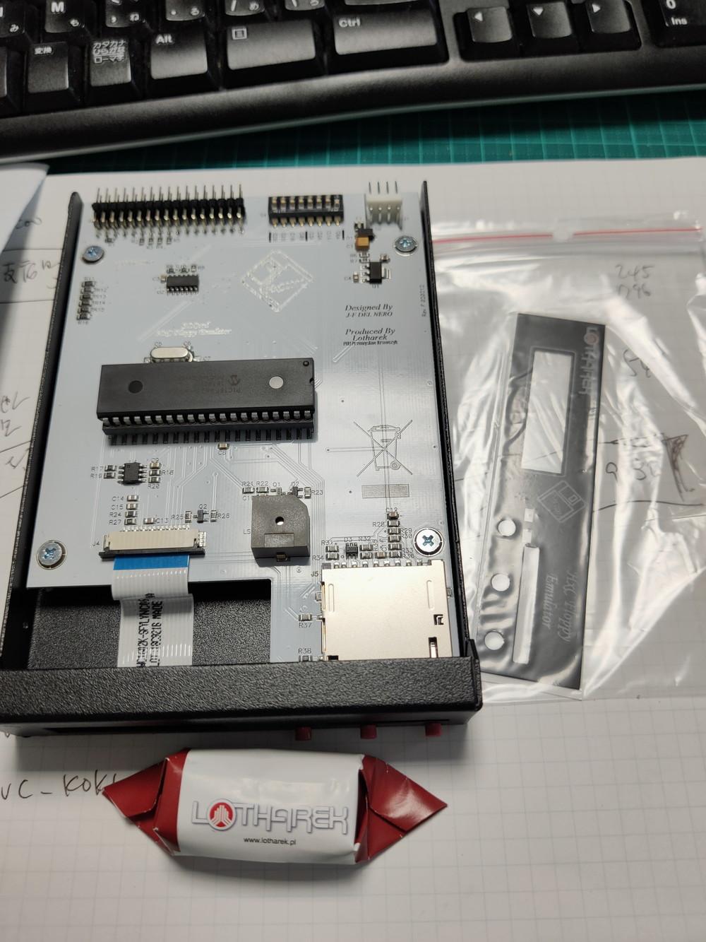 PC9801とPC8801でフロッピードライブ エミュレーター HxC Floppy を導入する
