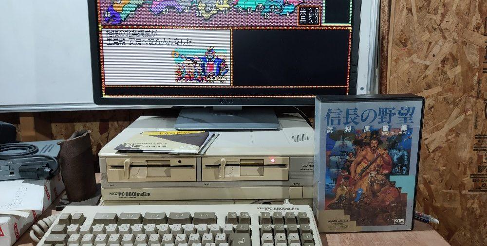 PC8801mk2SR を復活させてみました