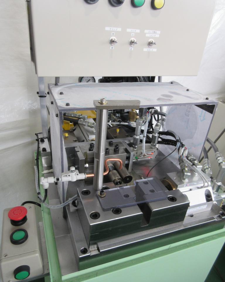 小型端末加工機(2パンチ)