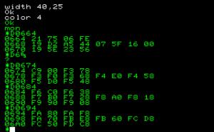 N-BASIC の内部ファンクションコール(VRAMアドレス計算)を解析してみたらビックリ